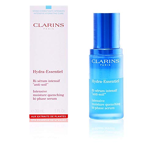Clarins Hydra-Essentiel Intensive Moisture Quenching Bi-phase Serum, 1 Ounce (Clarins Double Serum Best Price)