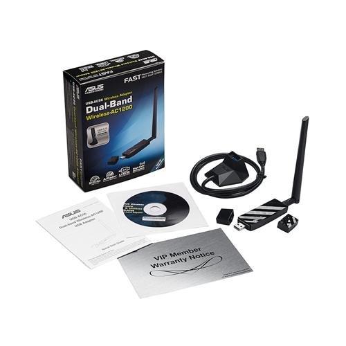 Asus USB-AC56 USB 3.0 802.11a/b/g/n/ac Wi-Fi Adapter