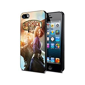 Case Cover Silicone Iphone 5c Bioshock Infinite Bo05 Game Protection Design#carata Store
