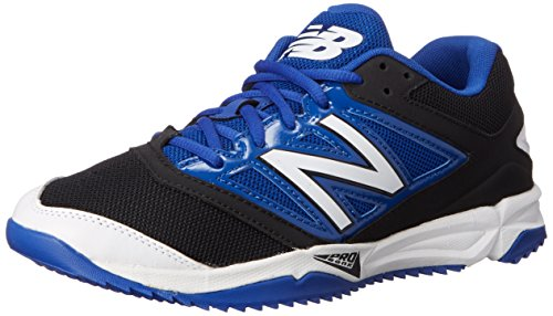 New Balance Men's T4040V3 Turf Baseball Shoe - Black/Blue...