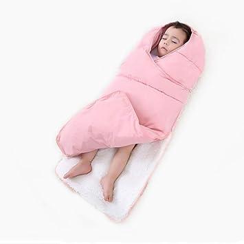 Queta Saco de Dormir para bebé Invierno para bebés y niños, cálido, antipatadas, Saco de Dormir Rosa Rosa: Amazon.es: Informática