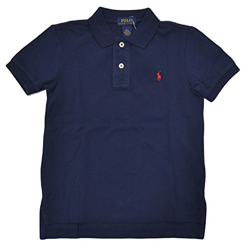 Shirt Rugby Lauren Boys Ralph (Polo Ralph Lauren Little Boys Mesh Polo Shirt (5, French Navy))