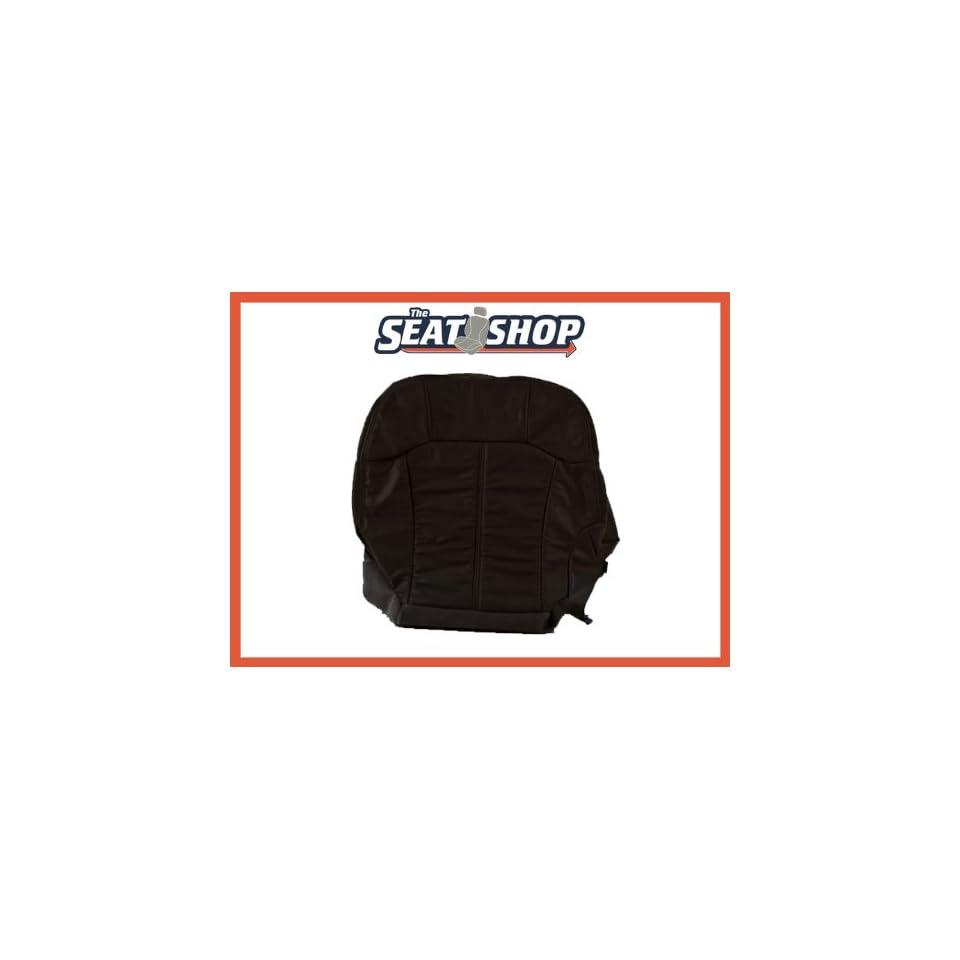00 01 02 Chevy Silverado Graphite Leather Seat Cover LH