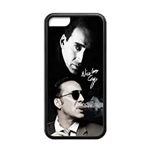 Customized iPhone Case Nicolas Cage Printed Laser Rubber iPhone 5C Case Cover