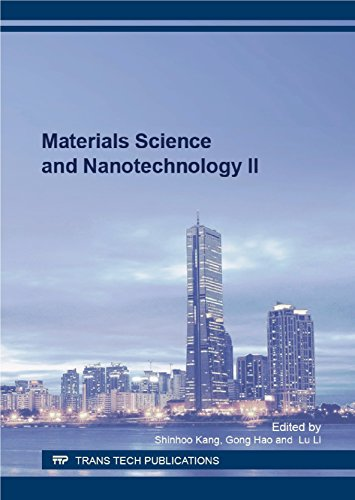 Materials Science and Nanotechnology II
