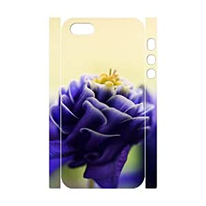 Iphone 5,5S Beautiful Flowers 3D Art Print Design Phone Back Case Personalized Hard Shell Protection DF063759