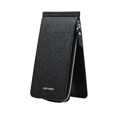 Women's Credit Card Holder Wallet Rfid Leather Card Case Zip Pocket Wallet