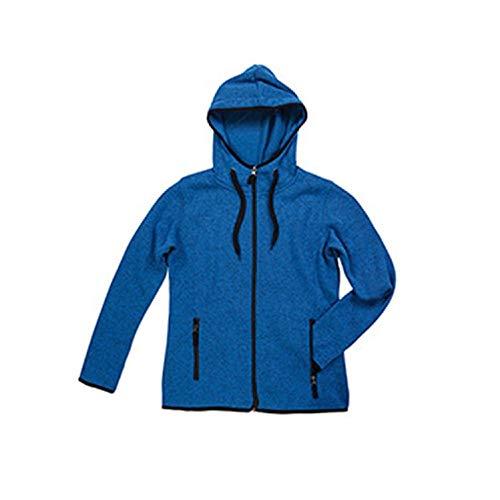 Active Stedman Jaspeado Punto Polar Modelo De Azul Mujer Chaqueta Para qzwarzpX