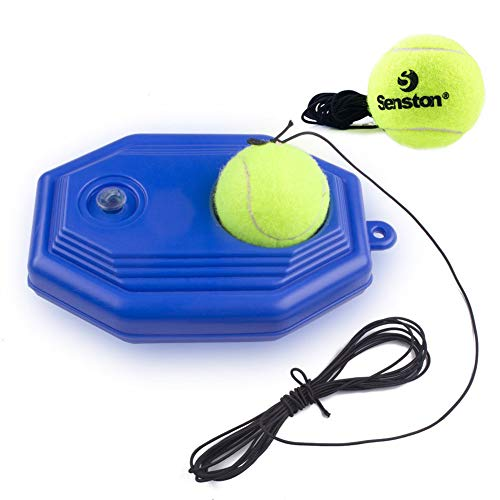 - Senston Tennis Training Ball Tennis Trainer Rebound Ball Tennis Trainer Equipment Trainer Base + 2 Training Ball