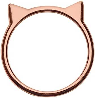 Sterling Silver Cat Ear Ring by Silver Phantom Jewelry
