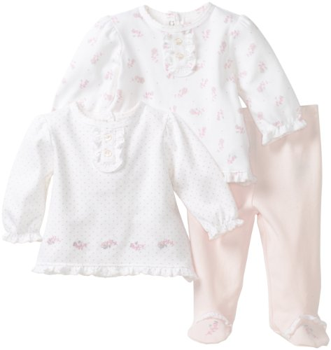 Little Me Baby-Girls Newborn Sweet 2 Top and1 Pant Set