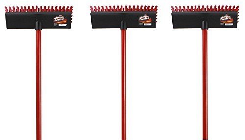 Libman CO 547 Floor Deck Scrub Brush and Handle (3-(Pack)) by LIBMAN CO