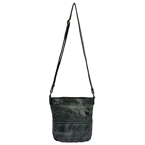 FREDsBRUDER Umhängetasche Hey Day II Crossbody Bag Damen Leder Grün