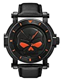 Harley-Davidson Men's Bulova Black Willie G Skull Wrist Watch 78A114