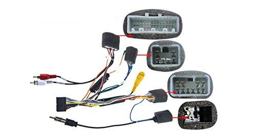 Toyota Corolla Electrical Wiring - JOYING Wiring Harness Cable for Toyota Hilux RAV4 Corolla etc without amplifier, ONLY Fit JOYING Head Unit