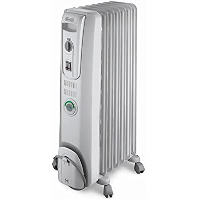 Delonghi OIL Filled Electric Radiator with COMFOR-TEMP Feature and Built-In Safety Features