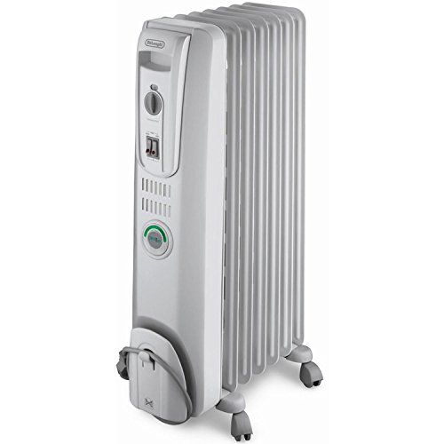 Delonghi OIL Filled Electric Radiator with COMFOR-TEMP Feature and Built-In Safety Features DeLonghi Oil Filled Heaters