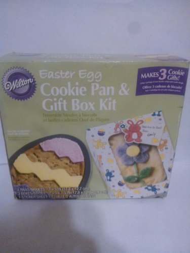 Wilton Easter Egg Cookie Pan & Gift Box Kit (Wilton Egg Pan compare prices)