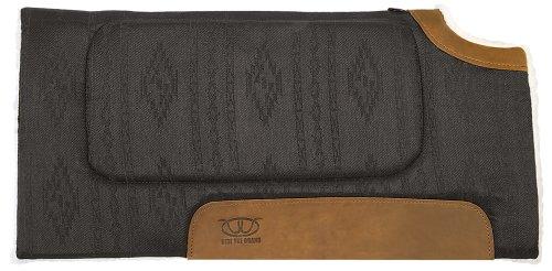 Weaver Leather All Purpose Cut Back Saddle Pad, Black (Saddle Pad Back)