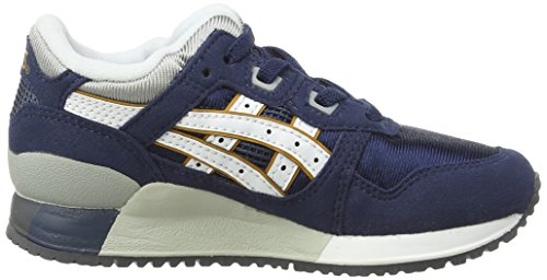 III Lyte Unisex Top Navy Gel 5001 Low Sneakers Ps Blue Kids' Asics White 5ExpUqUw