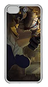 iphone 4s Case, iphone 4s Cases - Anti-Scratch Crystal Clear Hard Back Case for iphone 4s Blitzcrank League Of Legends Shock-Absorption Hard Back Bumper Case for iphone 4s