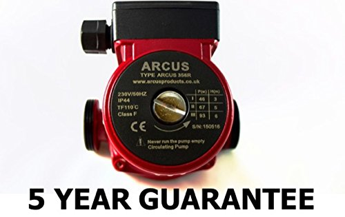 CENTRAL HEATING PUMP CIRCULATOR REPLACES GRUNDFOS MYSON WILO - 5 YEAR GUARANTEE Arcus