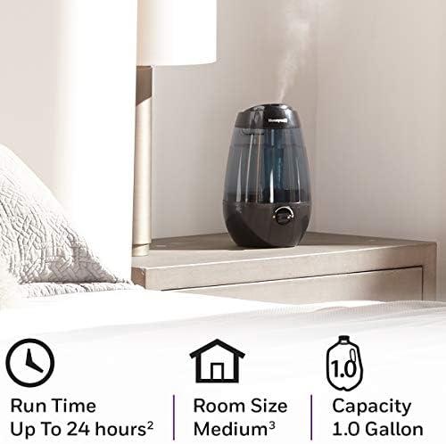 Honeywell HUL535B Cool Mist Humidifier, Black
