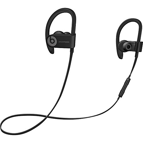 Beats By Dr. Dre Powerbeats3 Wireless In-Ear Stereo Headphones Bluetooth - Black (Certified Refurbished)
