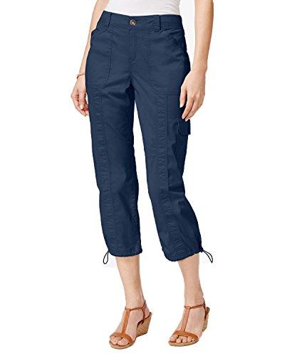 Style & Co. Classic Cargo Capri Pants (Uniform Blue, 8P) from Style & Co.