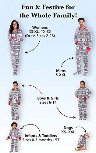 68a46026a PajamaGram Family Pajamas Matching Sets - Nordic Fleece Christmas ...