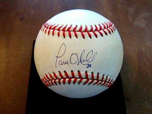 Paul Oneill # 21 Wsc Ny Yankees Reds Outfielder Signed Auto Oml Baseball - JSA Certified - Autographed Baseballs (Oneill Auto)