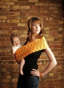Amazon Com Seven Slings Baby Infant Carrier Sling Size 4 Autumn