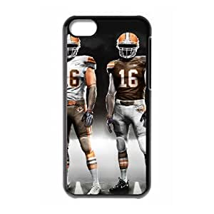 Cleveland Browns iPhone 5c Cell Phone Case Black 218y3-109343