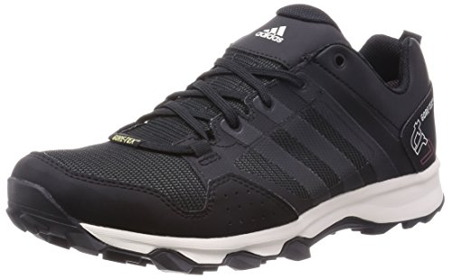 adidas Kanadia 7 Trail GTX, Herren Laufschuhe, Grau (Dark Grey/Core Black/Chalk White), 43 1/3 EU (9 Herren UK)
