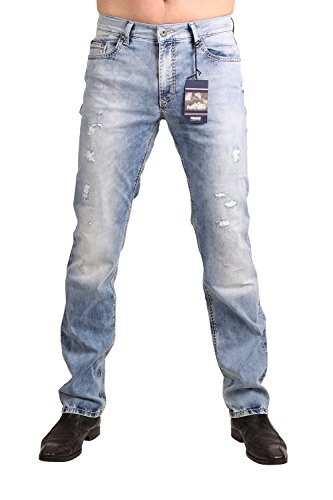PIONEER Stretch Jeans RANDO 1654-9856-185 Bleached Used: Weite: W35 | Länge: L36