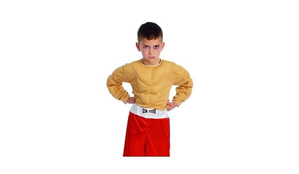 Guirca - Disfraz infantil de forzudo (81532): Amazon.es: Juguetes ...