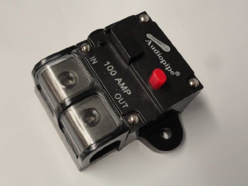 4 or 8 Gauge AWG 12V 100A 100 Amp A Manual Reset Circuit Breaker 12 Volt by Powerhouse TEP