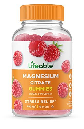 VitaWorks Magnesium Citrate – Great Tasting Natural Flavor Gummy Supplement – Gluten Free Vegetarian GMO-Free Chewable…
