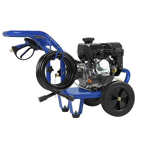 Excell EPW1792500 2500 PSI 2 5 GPM Cold Water 179CC Gas Powered Pressure  Washer