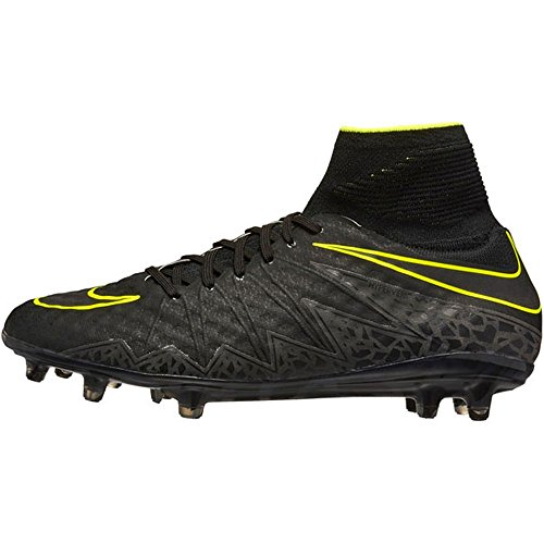 Tacchetta Da Calcio Nike Mens Hypervenom Phantom Ii Fg (sz. 10.5) Nero