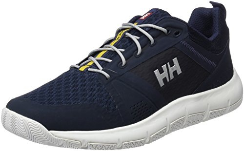 Helly Hansen W Skagen F-1 Offshore, Zapatillas de Deporte para Mujer, Azul (Navy/Graphite Blue/Off 597), 42 EU Azul (Navy/Graphite Blue/Off 597)