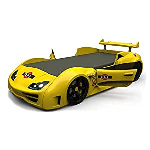 GT-1 Yellow Car bed opening doors