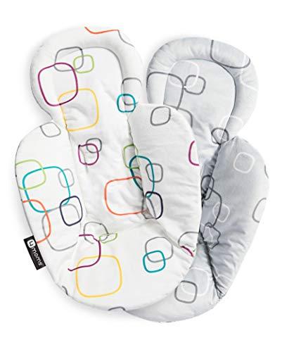 4moms New Reversible and Machine Washable Newborn Insert - Soft, Plush Fabric (Mamas And Papas Play Mat)