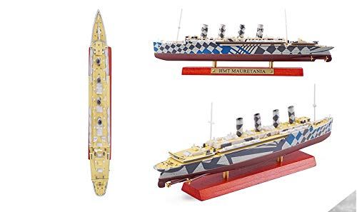 FidgetGear 1/1250 HMT MAURETANIA Cruise Ship Alloy Finished Model Collection Gift from FidgetGear