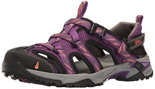 Ahnu Women's W Tilden V Athletic Sandal, Bright Plum, 9.5 M US by Ahnu