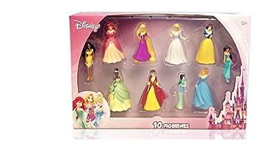 Disney Princess Figure Collection (10 Piece)