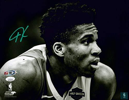 Giannis Antetokounmpo Bucks Signed Autographed 11x14 Photograph Photo JSA COA - Basketball Nike Poster