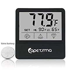 This Mini Digital Aquarium Thermometer comes with modern appearance and compact design, easy-to-read clear LCD Screen delivers accurate temperature readings in your Terrarium. It is important for you to own this one to keep your pet fish heal...