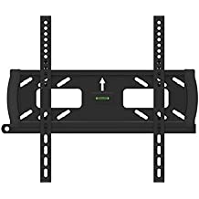 "Flat/Fixed Wall Mount Bracket with Anti-Theft Feature for Vizio E550i-B2E 55"" inch LED HDTV TV/Television - Low Profile"