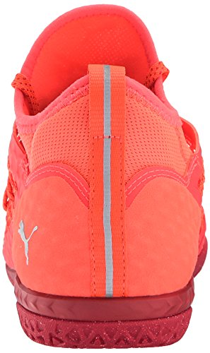 Puma Mens 365 Ignite Scarpe Da Calcio Netfit Ct, Ardente Corallo Bianco-toreador, 7,5 M Us